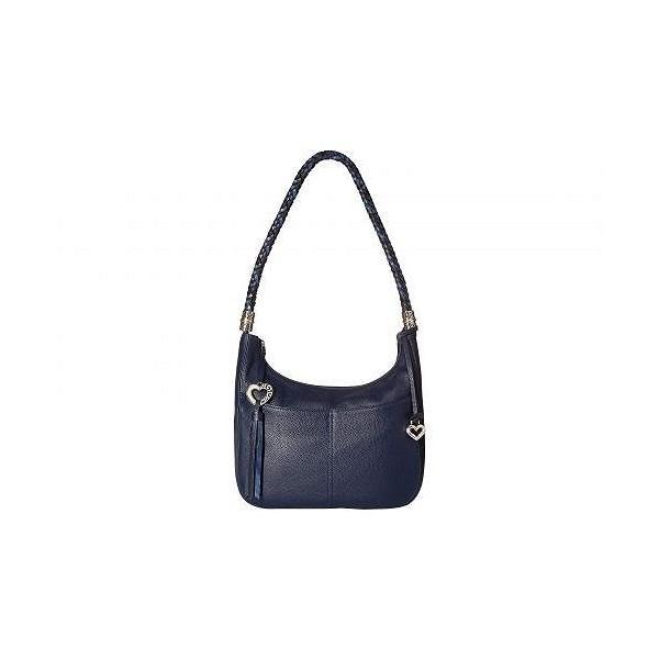 Brighton ブライトン レディース 女性用 バッグ 鞄 ホーボー ハンドバッグ Barbados Ziptop Hobo - Midnight