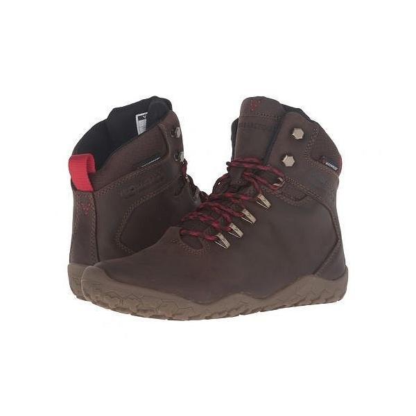 Vivobarefoot ビボベアフット レディース 女性用 シューズ 靴 ブーツ ハイキングブーツ Tracker Firm Ground - Dark Brown