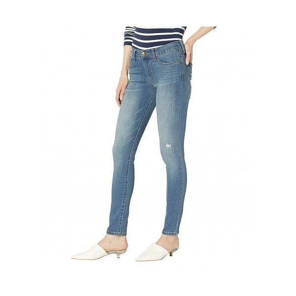 Vintage America レディース 女性用 ファッション ジーンズ デニム Wonderland Skinny in Light Blue - Light Blue