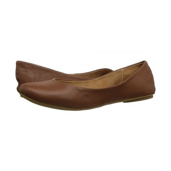 Kenneth Cole Reaction ケネスコール レディース 女性用 シューズ 靴 フラット Slip On By - Cognac Leather