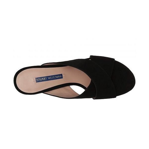 Stuart Weitzman スチュアートワイツマン レディース 女性用 シューズ 靴 ヒール Galene - Black Suede