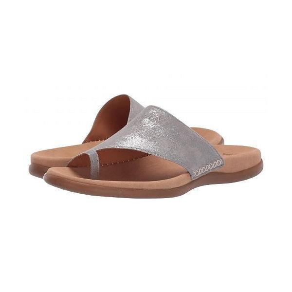 Gabor ガボール レディース 女性用 シューズ 靴 サンダル Gabor 23.700 - Grey