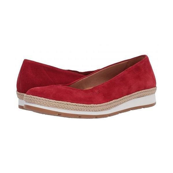 Gabor ガボール レディース 女性用 シューズ 靴 フラット Gabor 22.400 - Red
