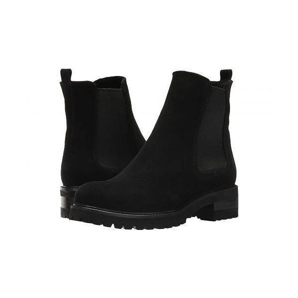 La Canadienne ラカナディアン レディース 女性用 シューズ 靴 ブーツ チェルシーブーツ アンクル Conner - Black Suede
