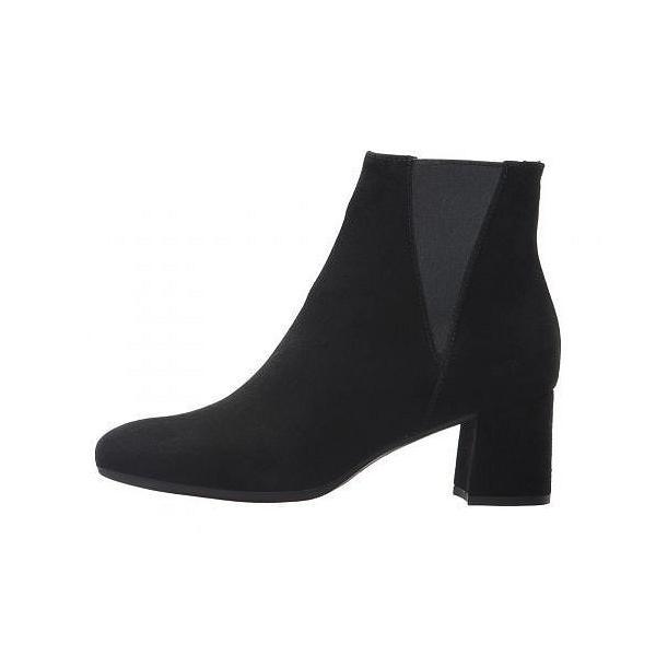 La Canadienne ラカナディアン レディース 女性用 シューズ 靴 ブーツ アンクルブーツ ショート January - Black Suede