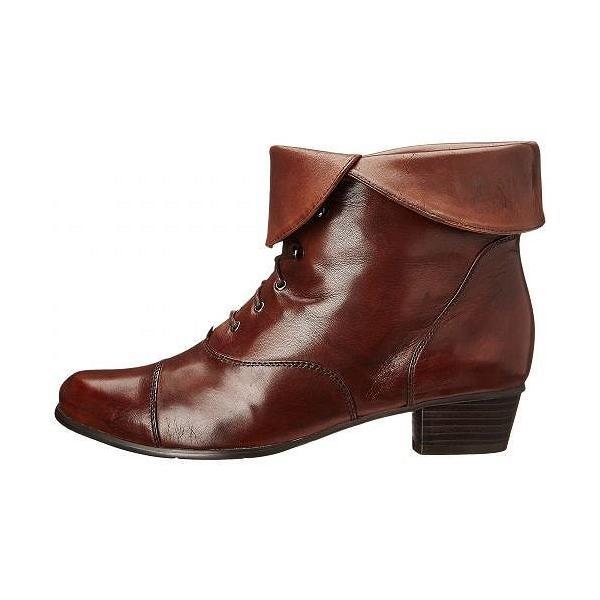 Spring Step スプリングステップ レディース 女性用 シューズ 靴 ブーツ アンクルブーツ ショート Galil - Medium Brown