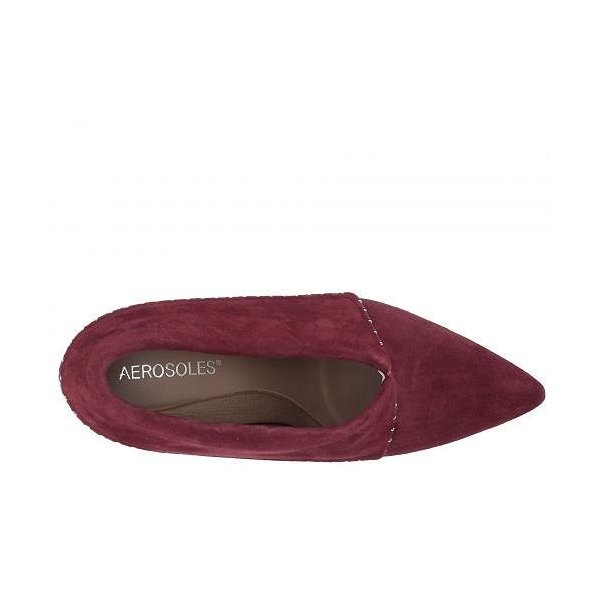Aerosoles エアロソールズ レディース 女性用 シューズ 靴 ヒール Wordsmith - Wine Suede