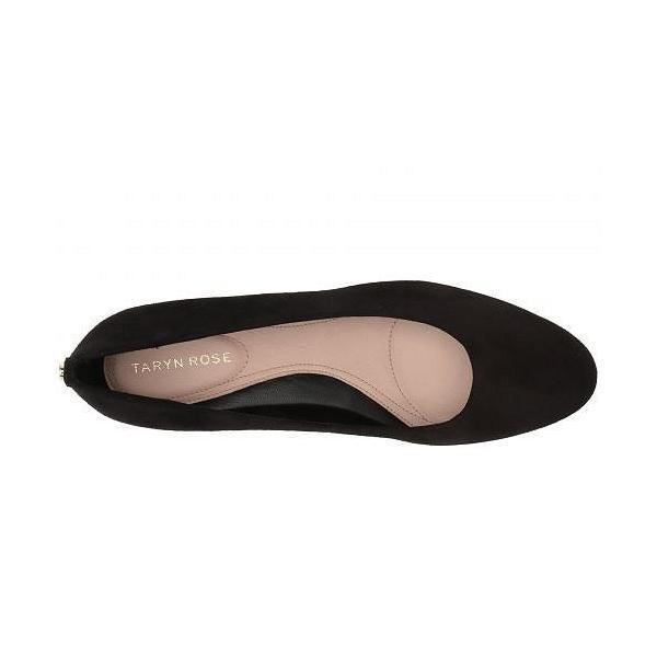 Taryn Rose タリンローズ レディース 女性用 シューズ 靴 ヒール Babs - Black Silky Suede