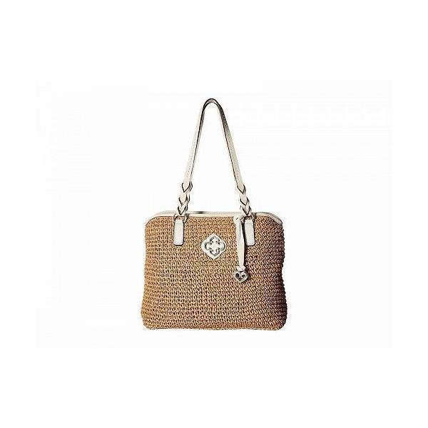 Brighton ブライトン レディース 女性用 バッグ 鞄 トートバッグ バックパック リュック Emery Tote - Wheat/White