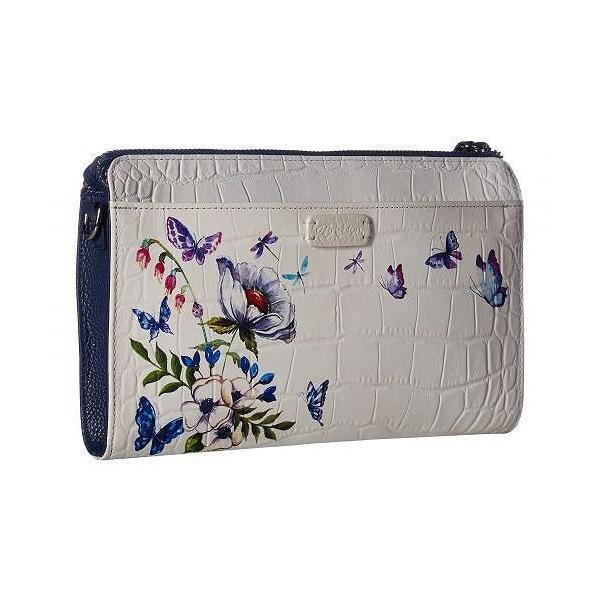 Brighton ブライトン レディース 女性用 バッグ 鞄 バックパック リュック Blanc Jardin Pouch - White/Multi