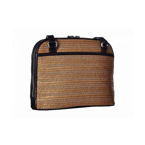 Brighton ブライトン レディース 女性用 バッグ 鞄 バックパック リュック Jojo Straw Organizer - Wheat/Black