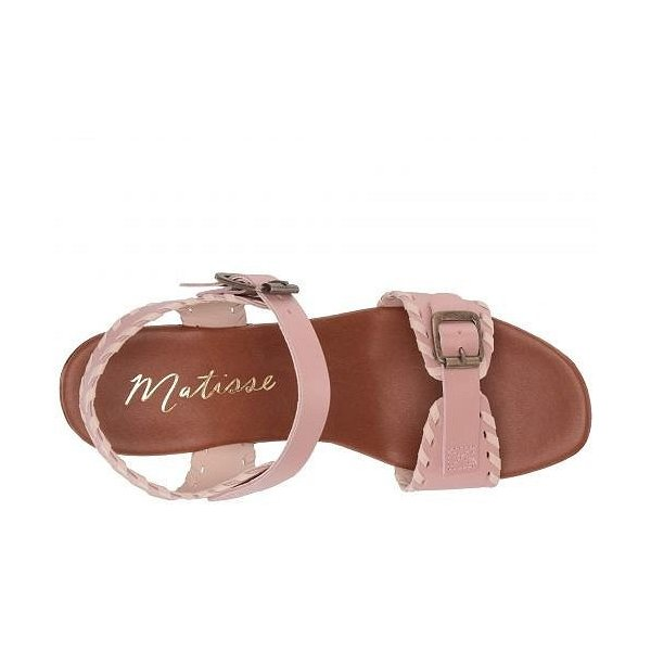 Matisse マティス レディース 女性用 シューズ 靴 ヒール Twiggy Wooden Heeled Sandal - Blush
