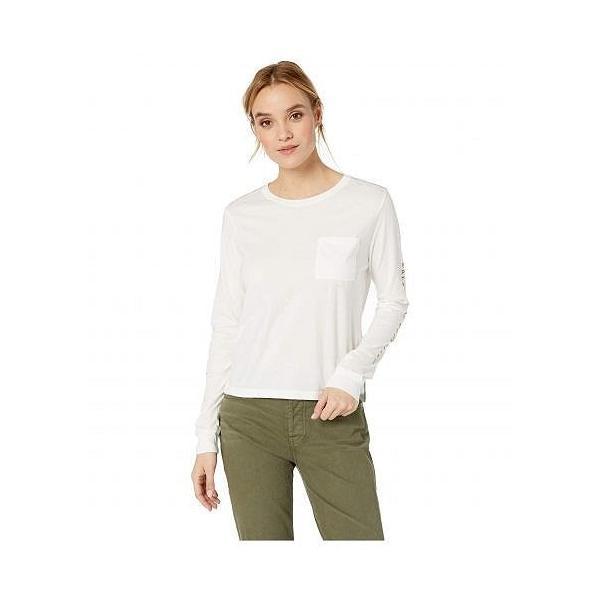 RVCA ルーカ レディース 女性用 ファッション Tシャツ Split Up Top - Vintage White