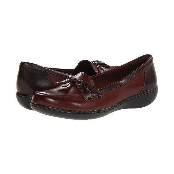 Clarks クラークス レディース 女性用 シューズ 靴 ローファー ボートシューズ Ashland Bubble - Brown Multi|ilovela