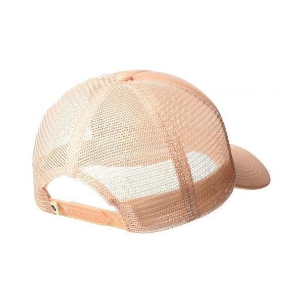 Roxy ロキシー レディース 女性用 ファッション雑貨 小物 帽子 トラッカーハット Truckin - Salmon