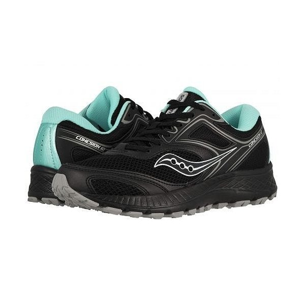 Saucony サッカニー レディース 女性用 シューズ 靴 スニーカー 運動靴 Versafoam Cohesion TR12 - Black/Teal