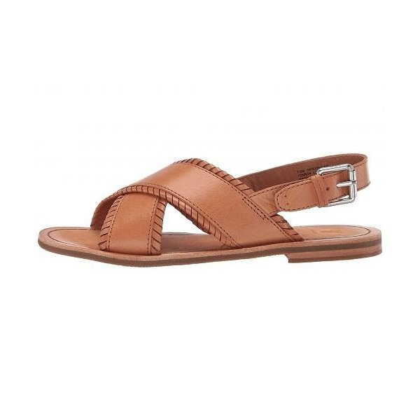 Frye フライ レディース 女性用 シューズ 靴 サンダル Robin Feather Crisscross - Camel