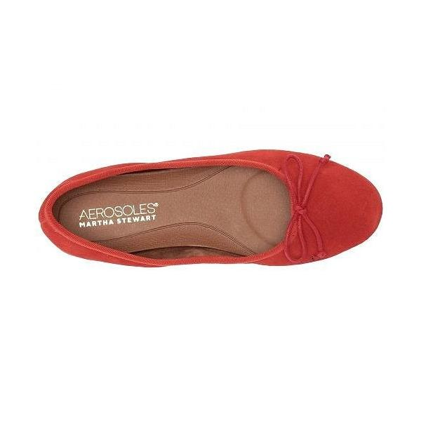 Aerosoles エアロソールズ レディース 女性用 シューズ 靴 フラット Martha Stewart Homerun - Orange Suede