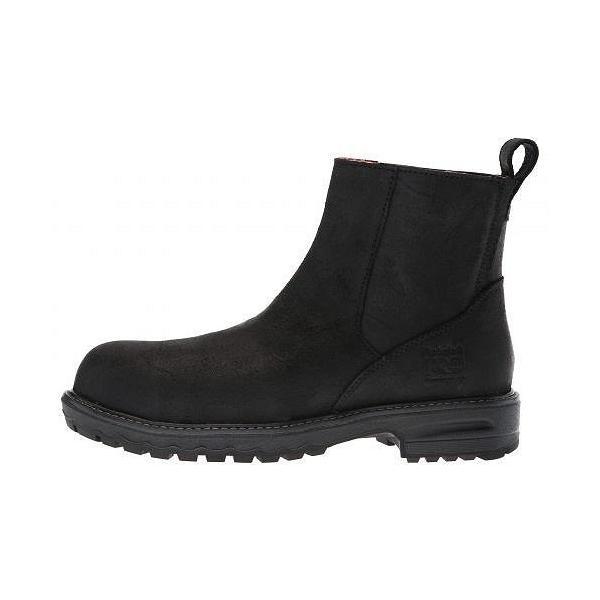 Timberland PRO ティンバーランド レディース 女性用 シューズ 靴 ブーツ 安全靴 ワークブーツ Hightower Chelsea Comp Safety Toe SD+ - Black Distressed|ilovela|04