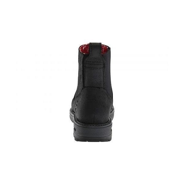 Timberland PRO ティンバーランド レディース 女性用 シューズ 靴 ブーツ 安全靴 ワークブーツ Hightower Chelsea Comp Safety Toe SD+ - Black Distressed|ilovela|05
