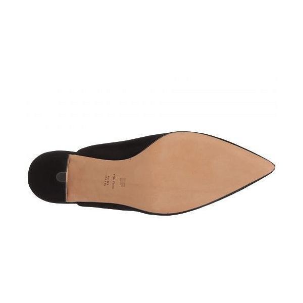 Diane von Furstenberg ダイアンフォンファステンバーグ レディース 女性用 シューズ 靴 ヒール Mikaila - Black Kid Suede