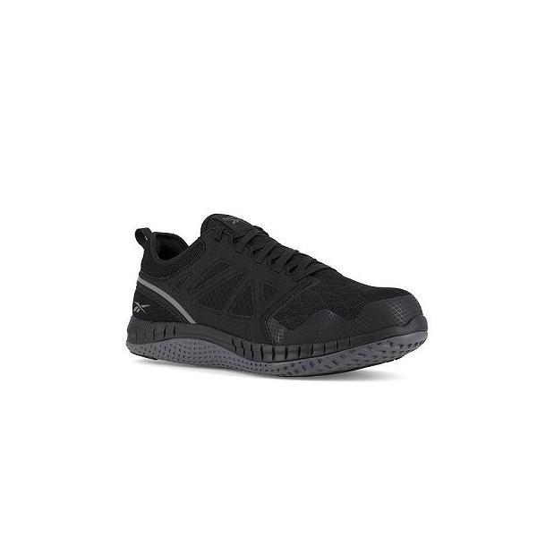 Reebok Work リーボック レディース 女性用 シューズ 靴 スニーカー 運動靴 Zprint Work - Black/Dark Grey