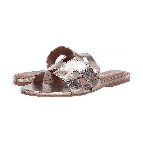 French Sole フレンチソール レディース 女性用 シューズ 靴 サンダル Alibi Sandal - Platino Metallic Nappa