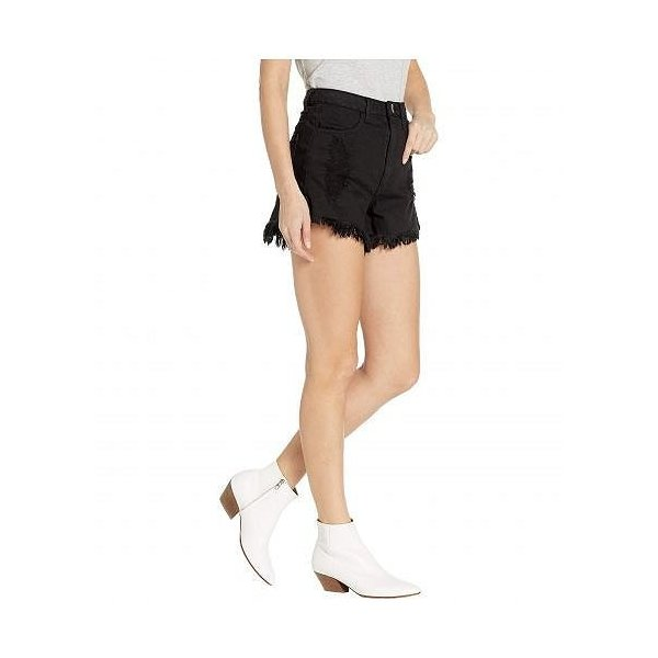 Show Me Your Mumu ショーミーユアムームー レディース 女性用 ファッション ショートパンツ 短パン Houston High-Waisted Shorts - Midnight Black