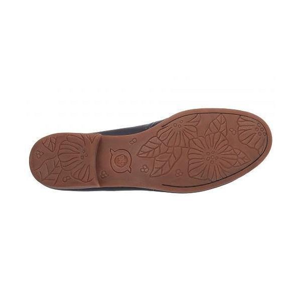Born ボーン レディース 女性用 シューズ 靴 ローファー ボートシューズ Graham - Navy Full Grain Leather