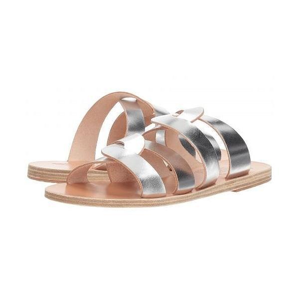 Ancient Greek Sandals レディース 女性用 シューズ 靴 サンダル Enosi - Silver Vachetta