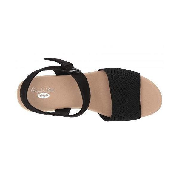 Dr. Scholl's ドクターショール レディース 女性用 シューズ 靴 ヒール Brickell - Black Knit