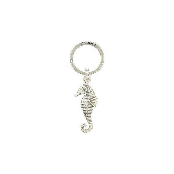 Brighton ブライトン レディース 女性用 ジュエリー 宝飾品 キーチェーン Blue Water Seahorse Key Fob - Crystal