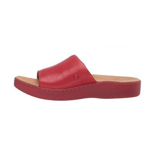 Born ボーン レディース 女性用 シューズ 靴 ヒール Ottawa - Red Full Grain Leather