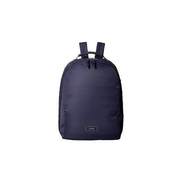 Lipault Paris レディース 女性用 バッグ 鞄 バックパック リュック Business Avenue Medium Backpack - Night Blue