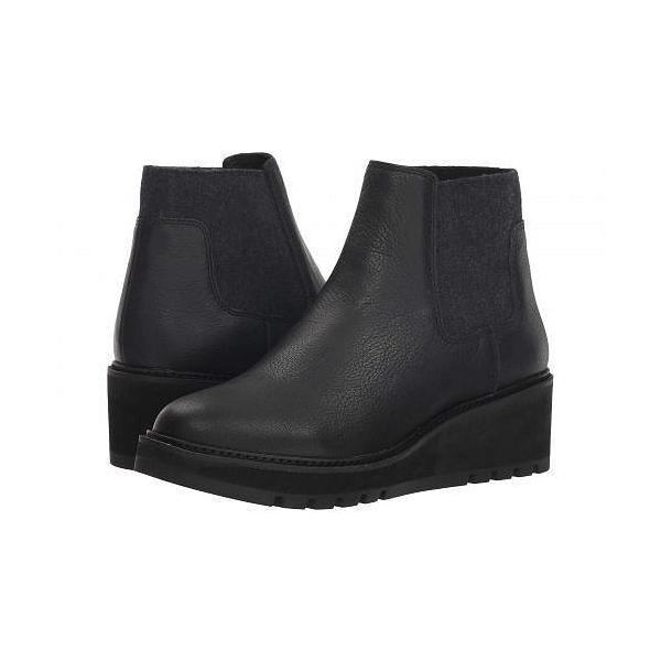 Eileen Fisher アイリーンフィッシャー レディース 女性用 シューズ 靴 ブーツ チェルシーブーツ アンクル Chelsea - Black Washed Leather
