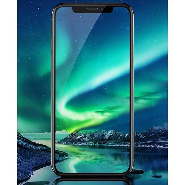 iPhone XR ガラスフィルム Xs MAX 3D 全面 iPhoneX 保護フィルム 強化 ガラス 9H アイフォン X テン ホワイト ブラック フィルム|ilover|10