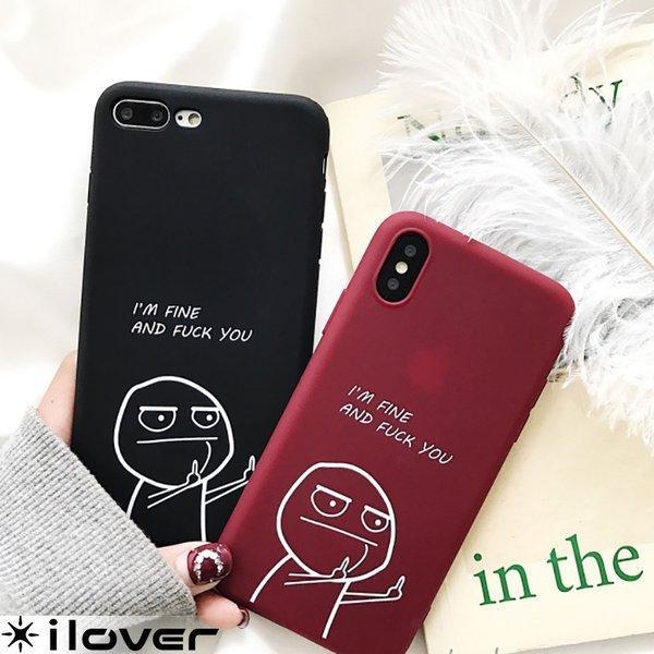iPhone8 ケース iPhone11 iPhone11Pro ケース iPhone XR Xs アイフォン11 アイフォン8 ケース iPhoneケース 面白い キャラクター