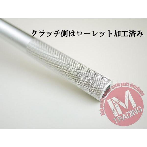 オフロード用ブレース付きハンドル CR-HIGH シルバー 22.2mm|im-trading|04