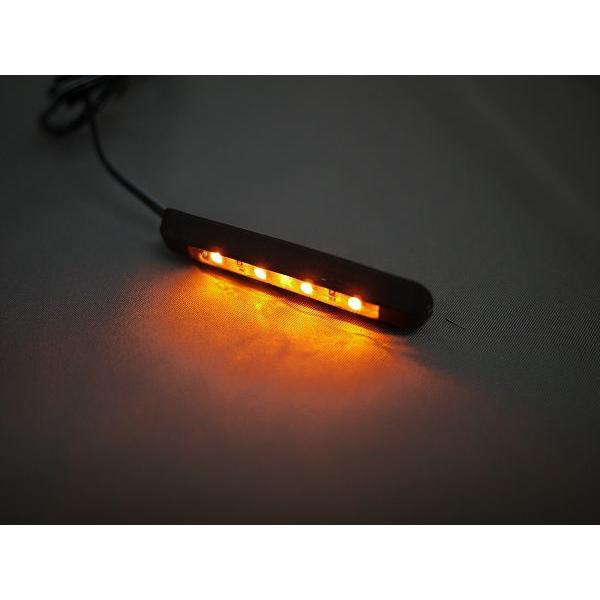 LEDラバーウインカー 2個セット フレキシブルウインカー 曲面貼り付けOK 両面テープ貼り付けタイプ|im-trading|02