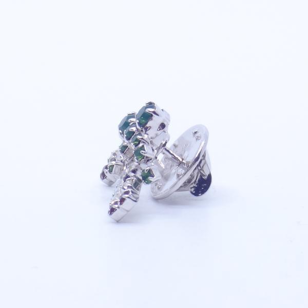 (イマック) imac バッジ ラインストーン ステッキ クリスマス 杖 ホワイト レッド グリーン 143166 imac-jewelry 08