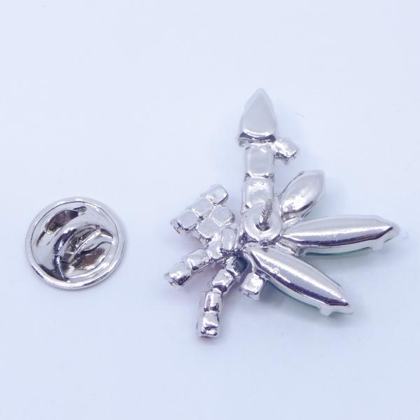 (イマック) imac バッジ ラインストーン キャンドル クリアカラー レッド グリーン 149005|imac-jewelry|06