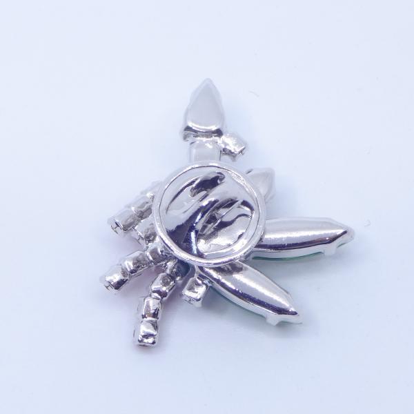 (イマック) imac バッジ ラインストーン キャンドル クリアカラー レッド グリーン 149005|imac-jewelry|07