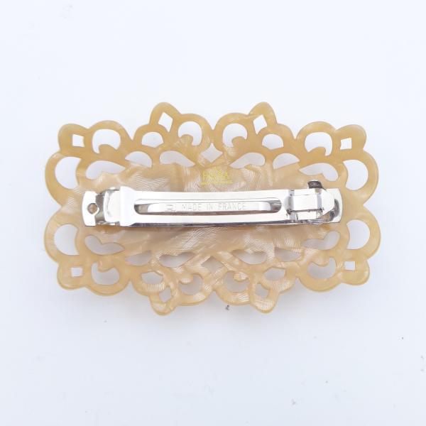 (イマック) imac ヘアバレッタ 白蝶貝 ベージュ ホワイト フラワー 149771|imac-jewelry|05