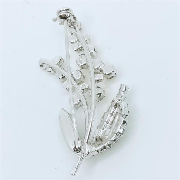 (イマック) imac ブローチ ラインストーン ミモザ イエロー 140094 imac-jewelry 03
