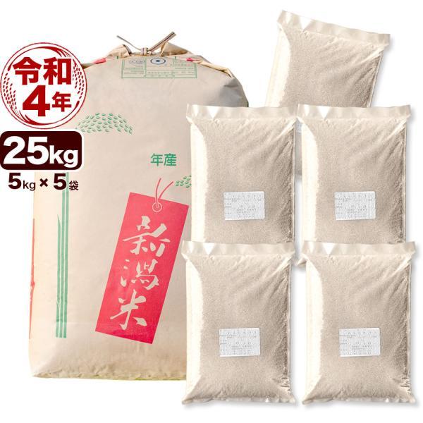 玄米 25kg キヌヒカリ 令和2年産 新潟産 送料無料 (北海道、九州、沖縄除く)