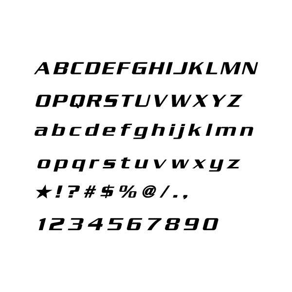 ニュルブルクリンク 切抜きステッカー オリジナル文字|imagine-style|02