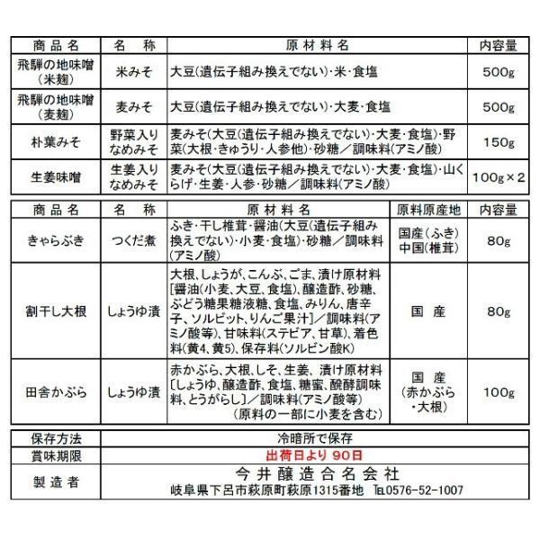 送料無料 特別販売セット 蔵のたから・飛騨|imaijozo|06