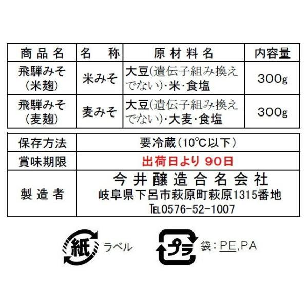 【送料無料の1,000円ぽっきり商品】 飛騨みそお試しセット|imaijozo|06