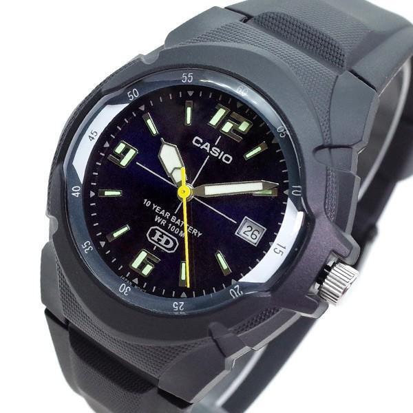 カシオ CASIO 腕時計 メンズ MW-600F-2AV クォーツ ダークブルー ブラック