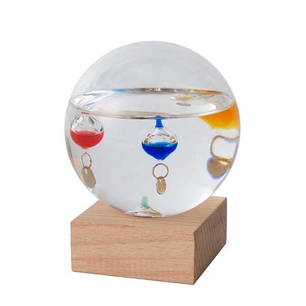 ガリレオ温度計:ドーム型ガラスフロート温度計S〜郵送可¥500|imanando|02